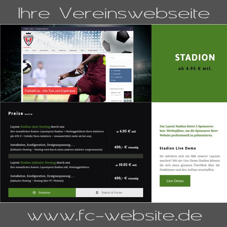Ihre Vereinswebseite | FC-Website