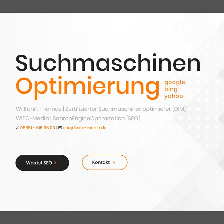 WITO-Media Suchmaschinenoptimierung